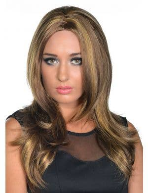 Bree Light Brown Flicked Deluxe Fashion Wig