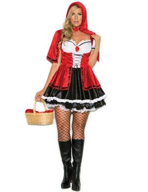 Sexy Red Riding Hood Plus Size Women's Fancy Dress Costume Front