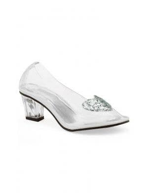 Cinderella Women's Clear Glass Look Costume Shoes