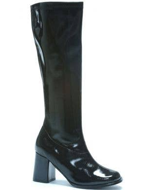 Go Go Women's 1960's Long Black Costume Boots