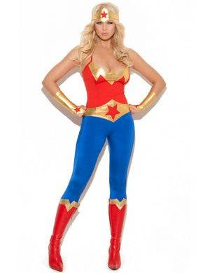 Super Hero Sexy Womenu0027s Costume ...  sc 1 st  Heaven Costumes & Wonder Woman - Womenu0027s X-Small Costumes | Heaven Costumes Australia