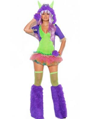 One Eyed Monster Sexy Women's Halloween Costume