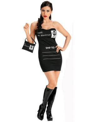 Ms. Blackmail Sexy Women's Costume