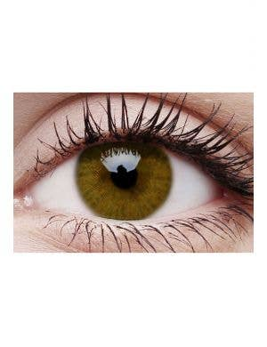 Basic Honey Brown Cosmetic Coloured Contact Lenses