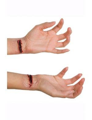 Slashed Wrists Latex Prosthetics