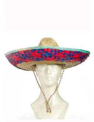 Mexican Sombrero Adults Straw Hat