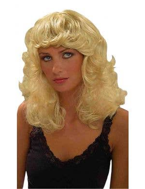 Beach Blonde Beauty Women's Blonde Costume Wig