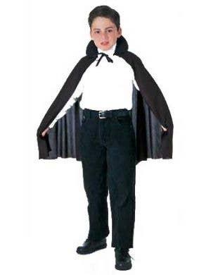 Budget Kids Halloween Cape - Black