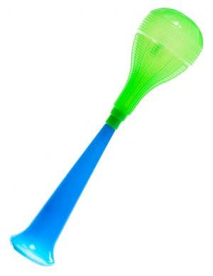 Novelty Blue and Green Honking Horn Costume Accessory