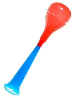 Novelty Blue and Red Honking Horn Costume Accessory