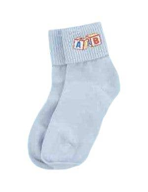 Baby Socks Blue Adults Novelty Costume Accessories