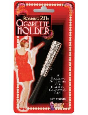 Vintage Hollywood Women's Short Cigarette Holder Costume Accessory