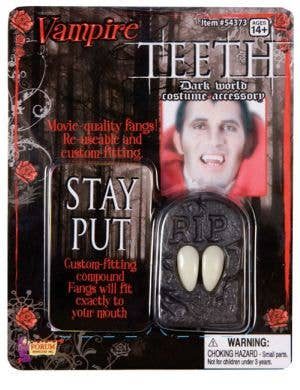 Adults Deluxe Vampire Halloween Costume Fangs