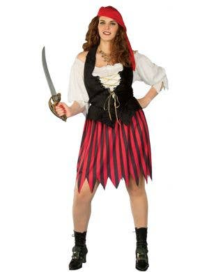 Buccaneer's Bride Plus Size Pirate Costume