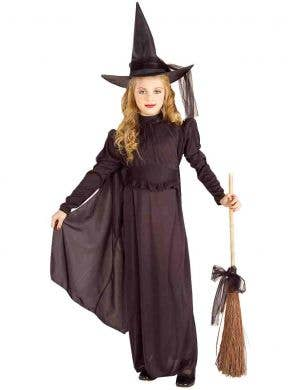 Classic Witch Girl's Halloween Costume