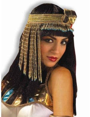 Cleopatra Beaded Adult's Headpiece
