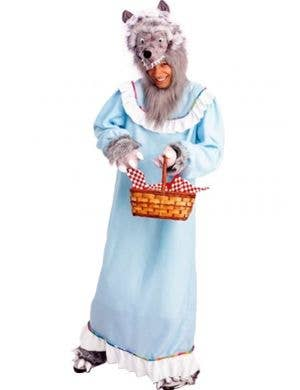 Granny Wolf Men's Fancy Dress Costume