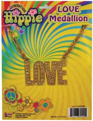 Hippie Love Medallion Necklace
