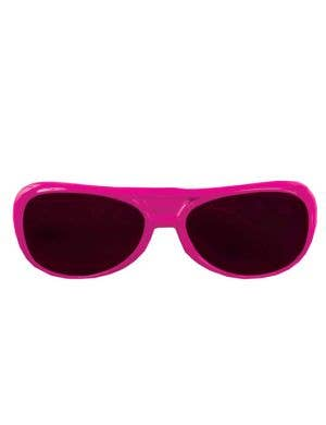 Aviator Style Hot Pink Sunglasses
