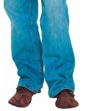 Hippie Retro Moccasins Unisex Costume Accessory Shoes