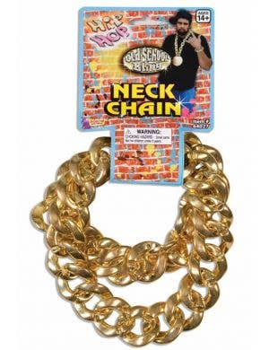 Giant Hip Hop Chain Costume Necklace