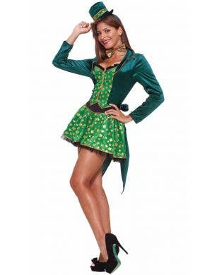 St Patrick's Women's Leprechaun Fancy Dress Costume