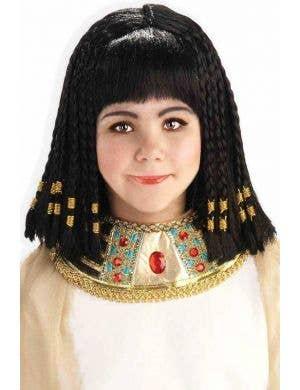 Queen Cleopatra Girls Costume Wig