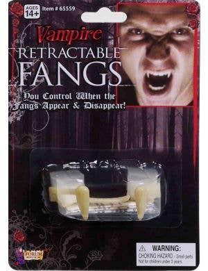 Retractable Vampire Fangs Halloween Special FX