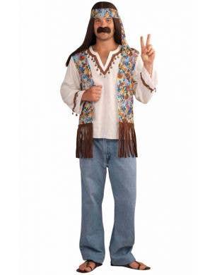 Groovy Hippie Men's 1960's Costume
