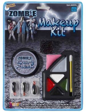 Zombie Make Up Kit Halloween Special Effects
