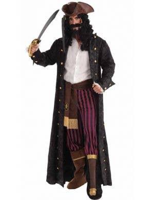 Peg Leg Pirate Deluxe Captain Men's Costume