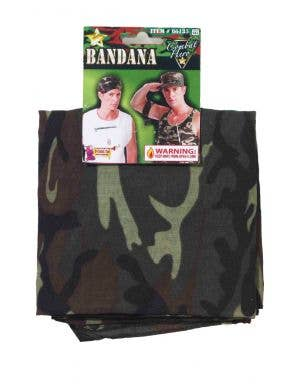Combat Hero Men's Novelty Camouflage Bandana Accessory