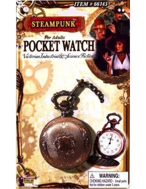 Steampunk Deluxe Brass Look Pocket Watch