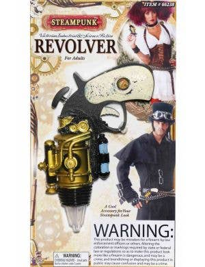 Steampunk Revolver Costume Accessory