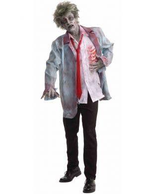 Creepy Zombie Men's Halloween Costume Main Image