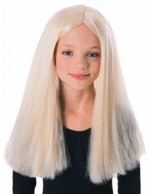 Long Blonde Girls Costume Wig