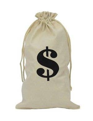 Novelty Money Bag Costume Accessory