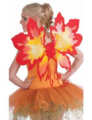 Autumn Leaf Women's Fairy Wings Costume Accessory