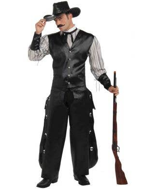 Rogue Gambler Men's Cowboy Costume