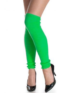 1980's Neon Green Leg Warmers