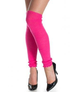 1980's Neon Pink Leg Warmers