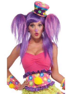 Circus Sweetie Rainbow Thick Belt Costume Accessory