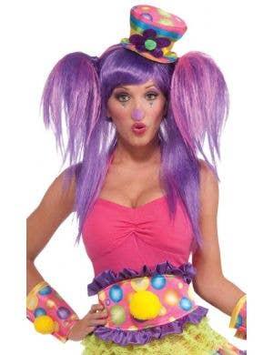 Circus Sweetie Rainbow Thick Belt Costume Accessory