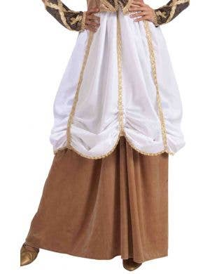 Medieval Lady Women's Fancy Dress Costume Skirt