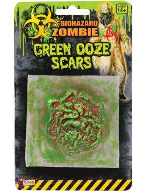 Biohazard Zombie Green Ooze Scar Special Effects - Single Pack