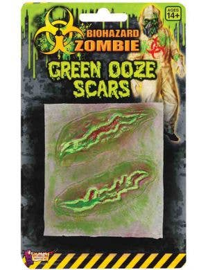 Biohazard Zombie Green Ooze Scar Special Effects Pack