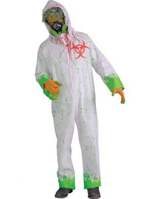 Biohazard Men's Toxic Zombie Costume