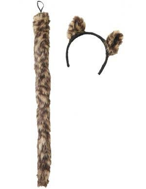 Wild Things Leopard Ears and Tail Set