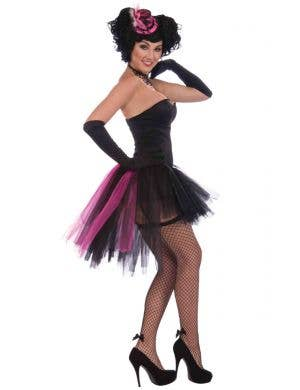 Burlesque Tulle Women's Pink and Black Tutu