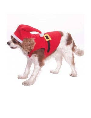 Jolly Little Santa Pet Dog Costume